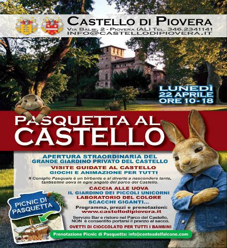 Pasquetta al Castello di Piovera
