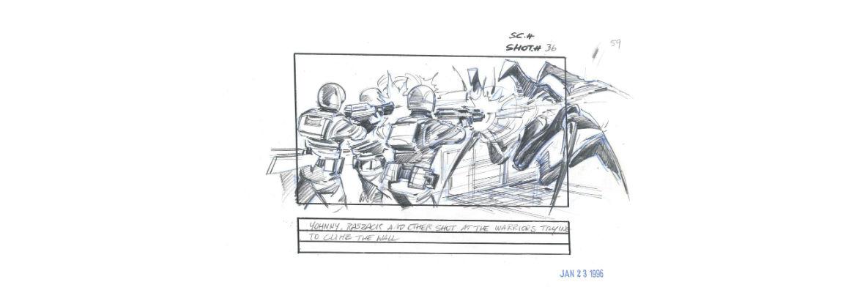 Una matita italiana a Hollywood. Giacomo Ghiazza–Storyboard Artist